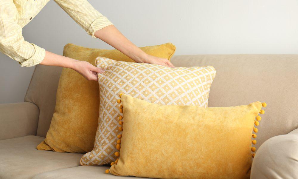 Förnya kuddarna till din soffa